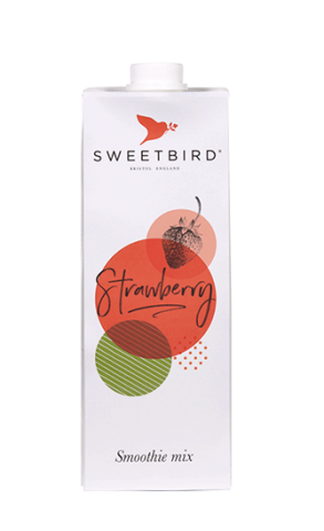 Sweetbird Strawberry smoothie - Φράουλα smoothie